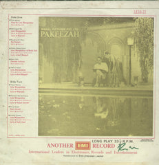 Pakeezah - Hindi Bollywood Vinyl LP