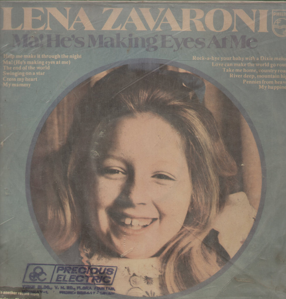 Lena Zavaroni Ma! He's Making Eyes at me - English Bollywood Vinyl LP