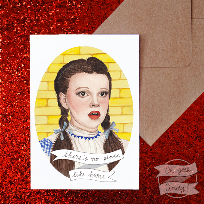 Dorothy greeting card