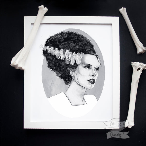 Bride of Frankenstein print