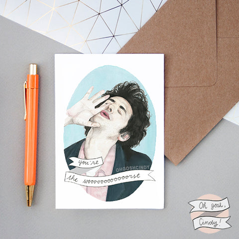 Jean Ralphio greeting card