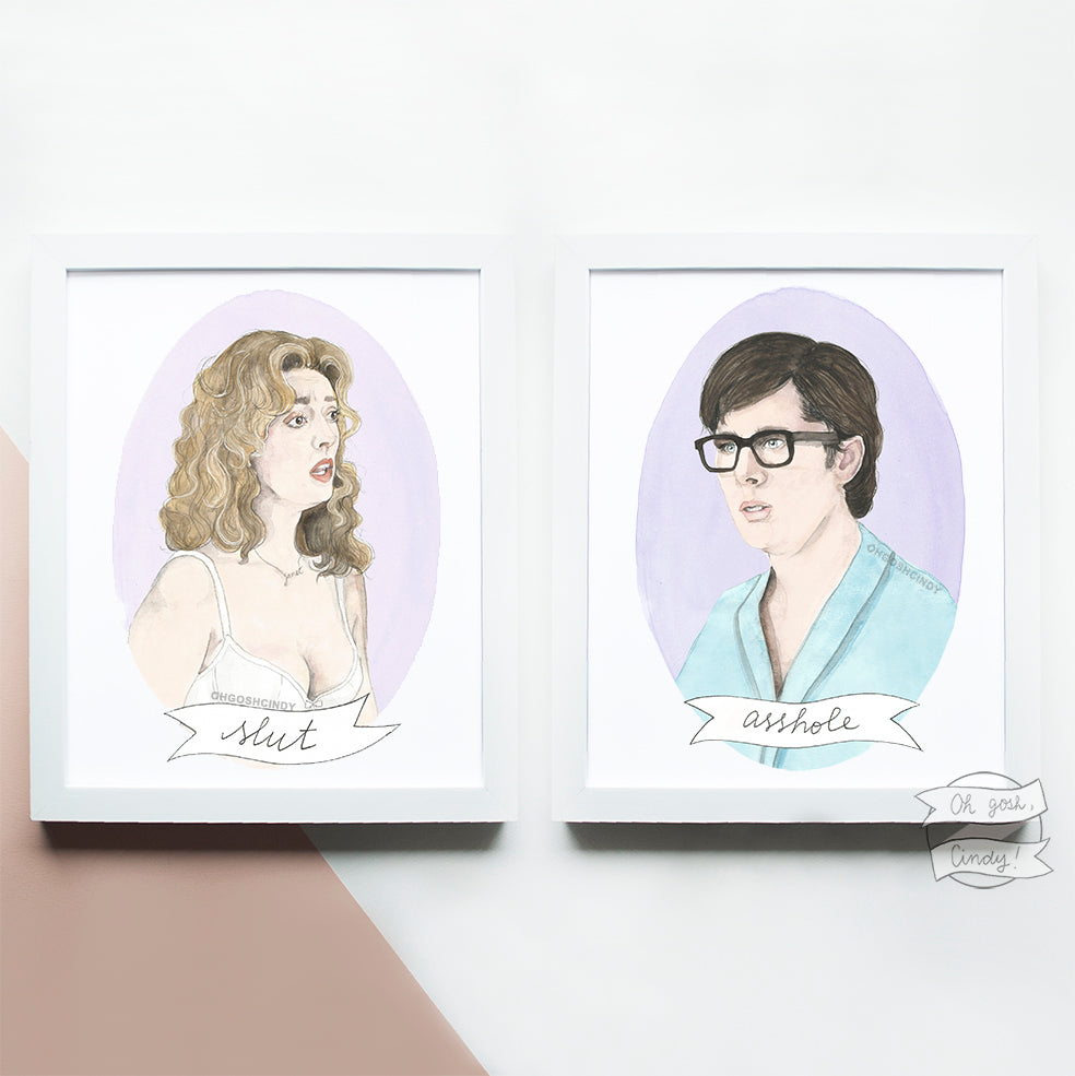 Brad and Janet prints
