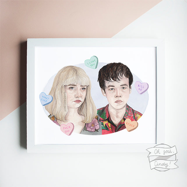 The End of the F***ing World print