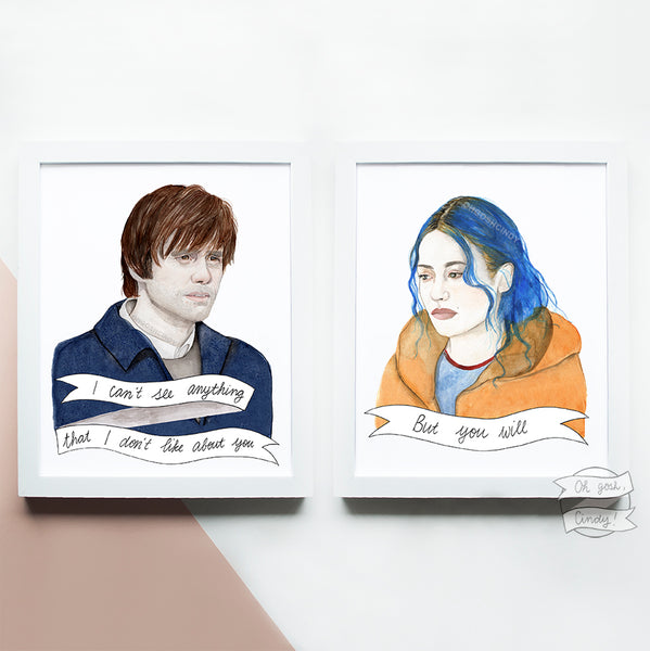 Eternal Sunshine of the Spotless Mind prints