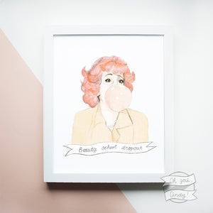 Frenchy ''Grease'' print