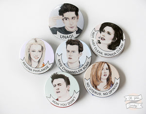 Friends buttons