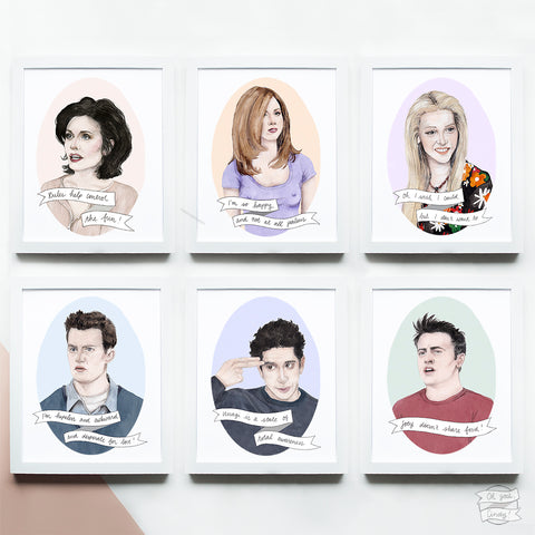 FRIENDS prints