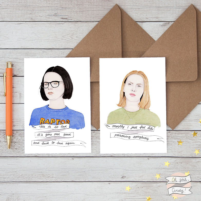 Ghost World greeting cards
