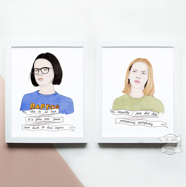 Ghost World prints