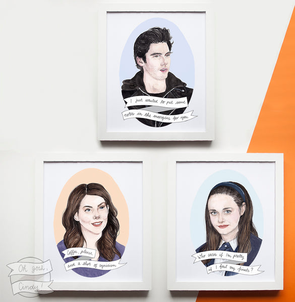 Gilmore Girls prints