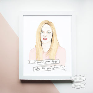 Mean Girls, Karen print