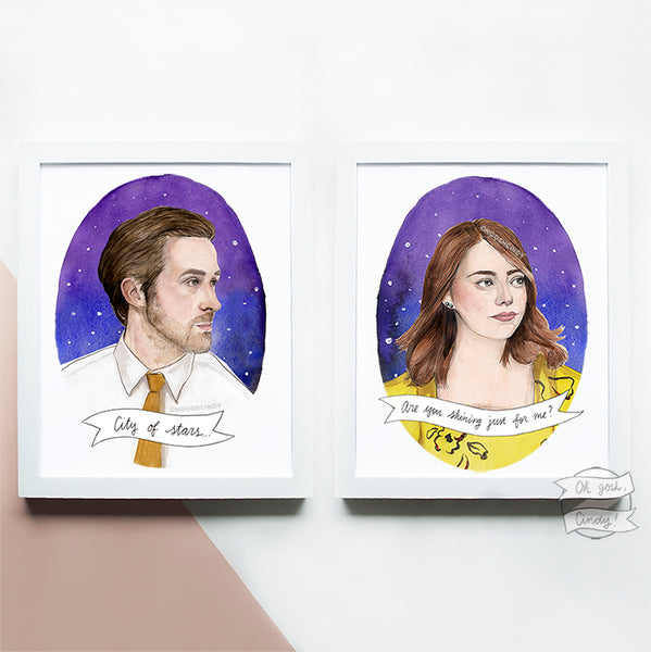 Seb and Mia prints