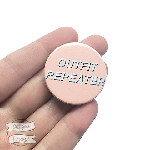 ''Outfit repeater'' badge