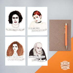 Rocky Horror Picture Show greeting cards