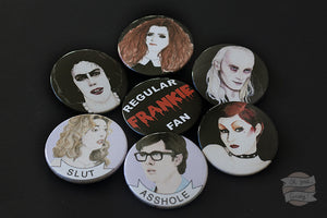 Rocky Horror Picture Show badges
