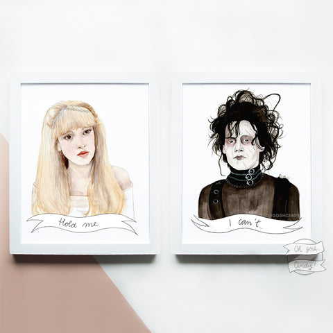 Edward Scissorhands prints