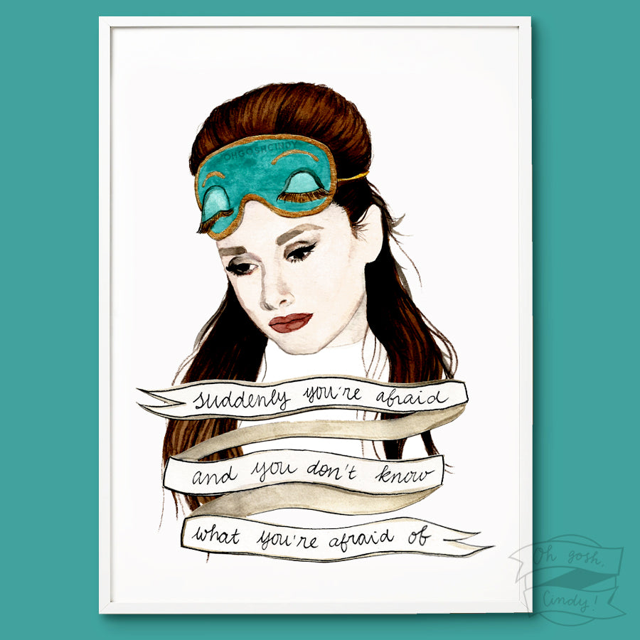 Breakfast at Tiffany's print