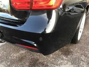 BMW M Sport Bumper rear 3 Series F30 In Black Pn 51128056497