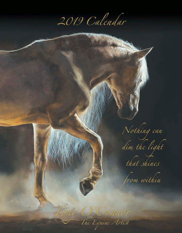 2019 Tony O'Connor Equine Art Calendar Limited Edition