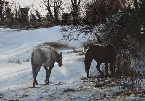 Fine Art Giclée Print 'The Foragers'