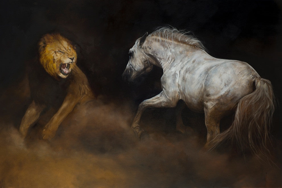 LIMITED EDITION Fine Art Giclée Print 'Against All Odds'