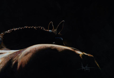 Fine Art Giclée Print 'Macho Polo'