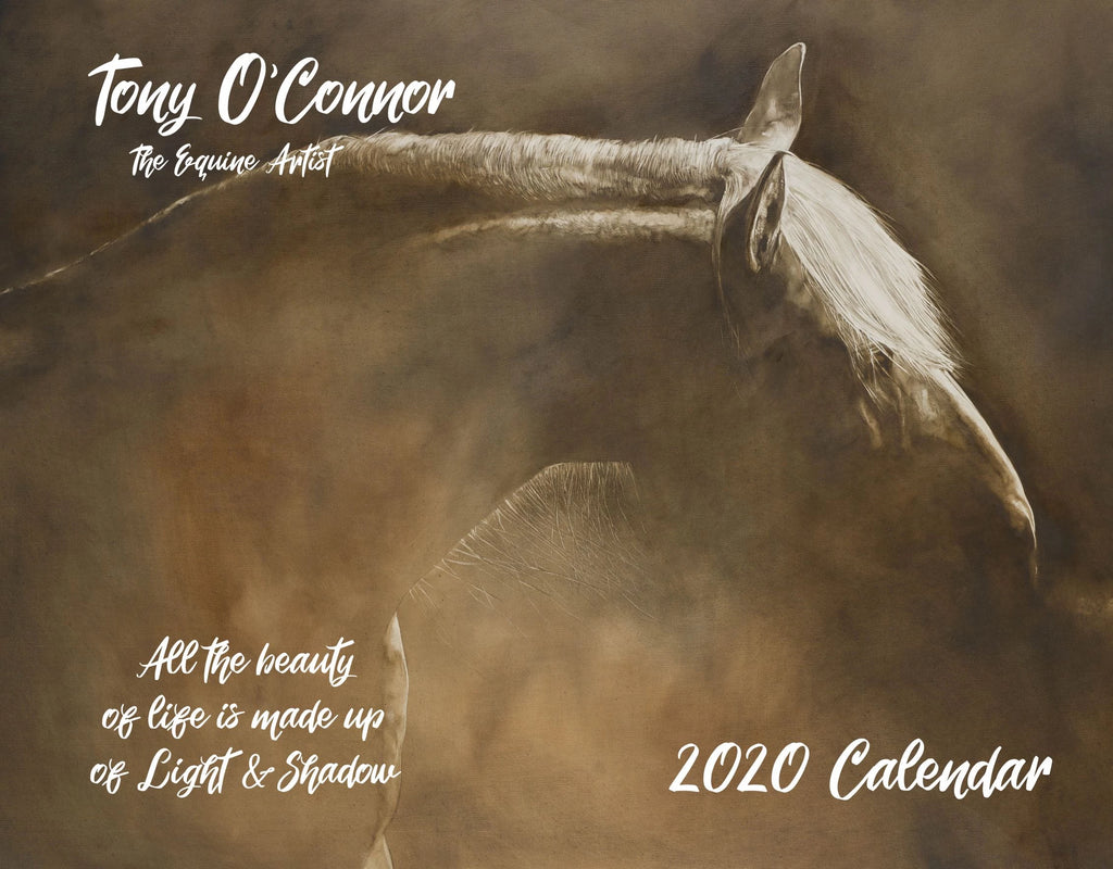Tony O Connor 2020 Equine Art Calendar Limited Edition