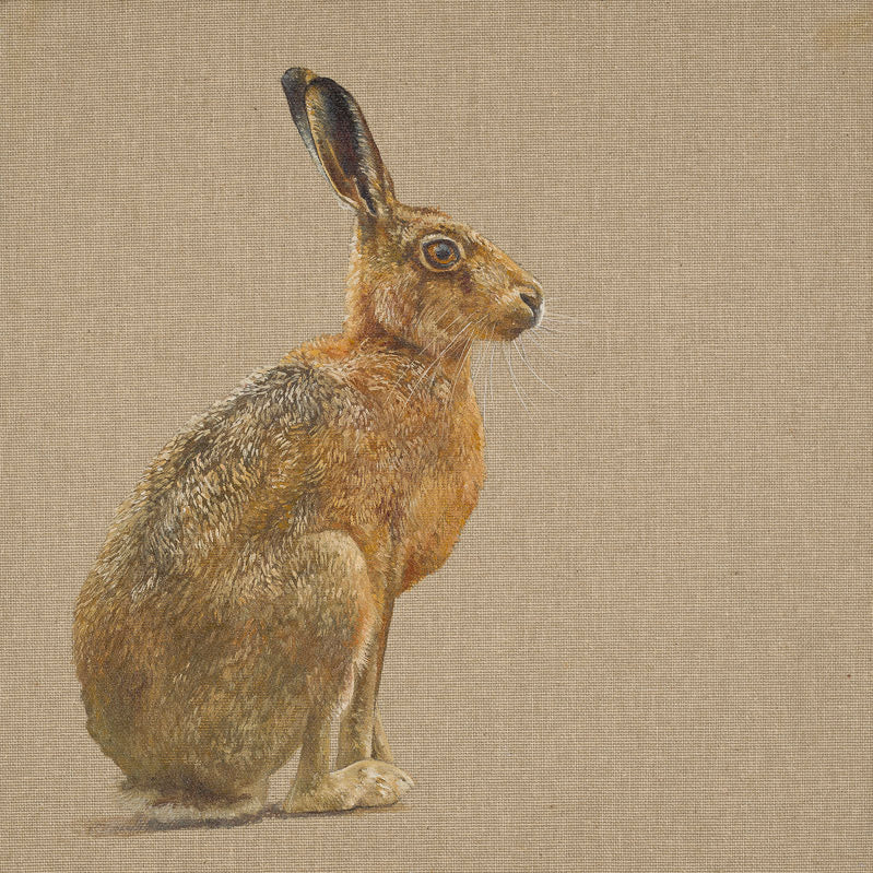 By a Hares Breath