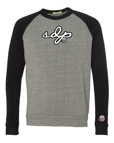 SoDuhPop Signature Crew Sweater (Grey/Black)