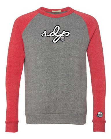 SoDuhPop Signature Crew Sweater (Red)
