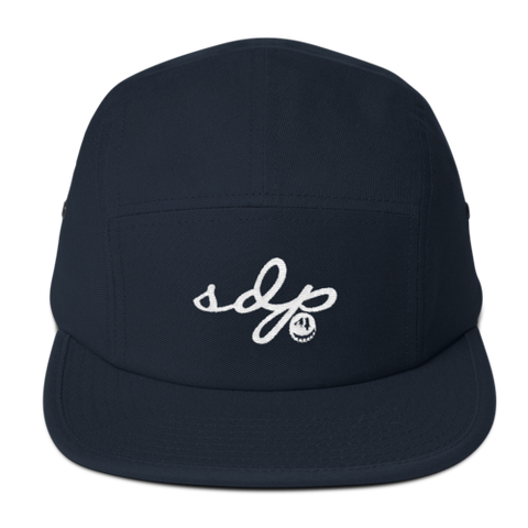 SDP Signature 5 Panel Hat (NAVY)