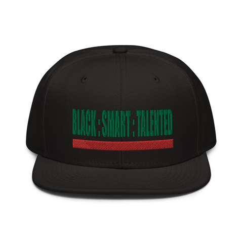 Triple Threat SnapBack (Black)