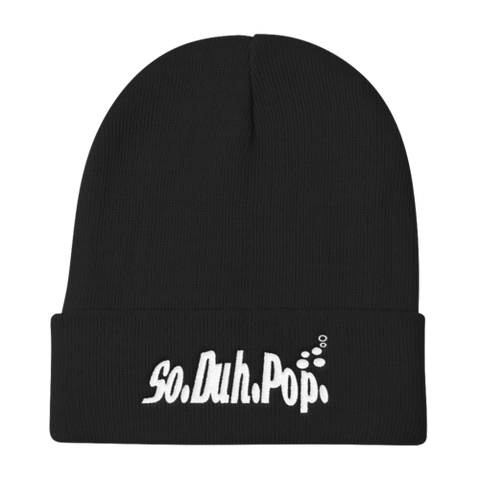 So.Duh.Pop Words Beanie