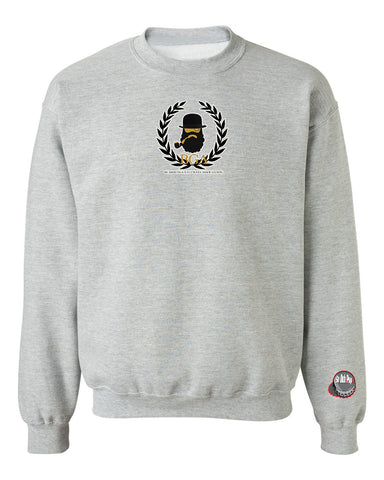 TheBGA Logo Crewneck Sweater (Gray)