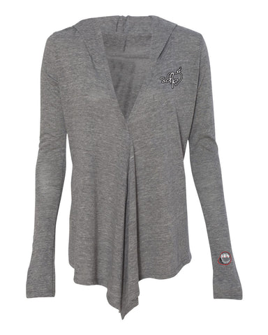 SDPLove Crest Hooded Wrap (Gray)