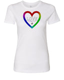 Love Has No Color Womens tees
