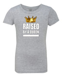 PopKids Raised By A Queen Girls Tees