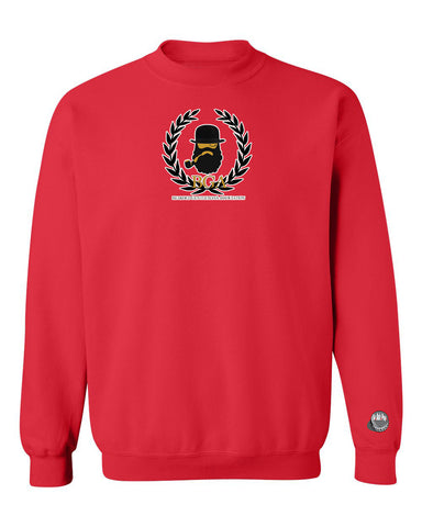 TheBGA Logo Crewneck Sweater (Red)