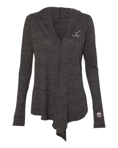 SDPLove Crest Hooded Wrap (Black)