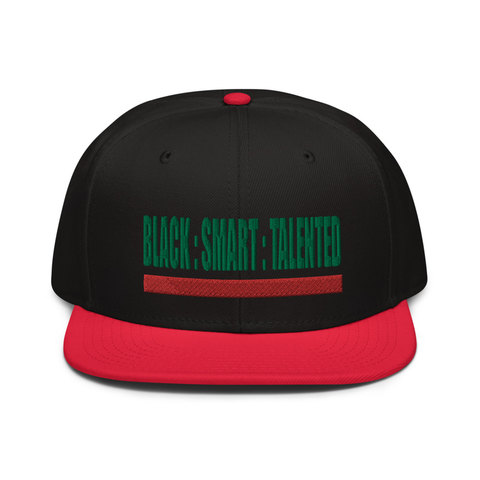 Triple Threat SnapBack (Black/Red)
