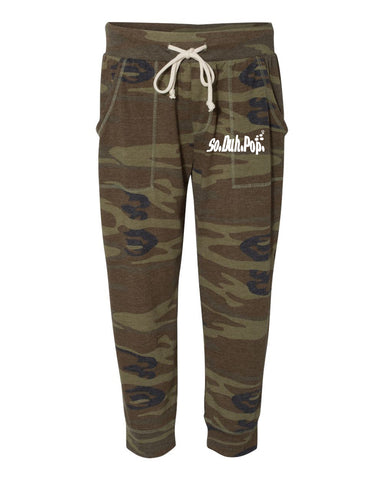SDP Cropped Camo Joggers