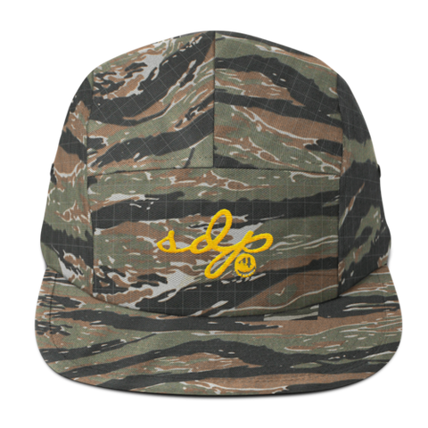 SDP Signature 5 Panel Hat (Camo)