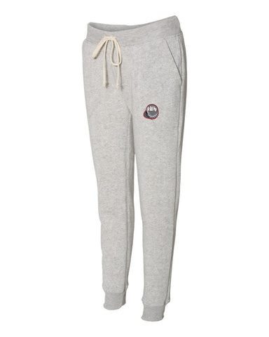 SoDuhPop Slimfit Women's Fleece Joggers (Light Gray)