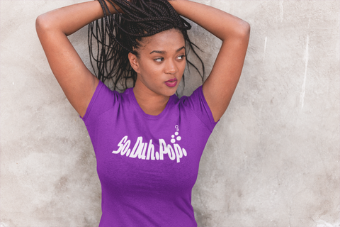 SoDuhPop Words Womens tees