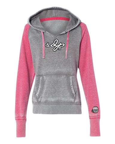 SDP Signature Vintage Fleece Hoodie (Berry)