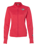 SDPSignature Women's Poly-Tech Track Jacket (Neon Coral)