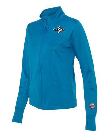 SDPSignature Women's Poly-Tech Track Jacket (Blue)