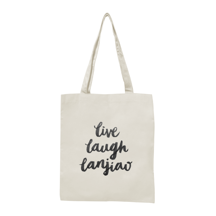 live laugh lanjiao tote