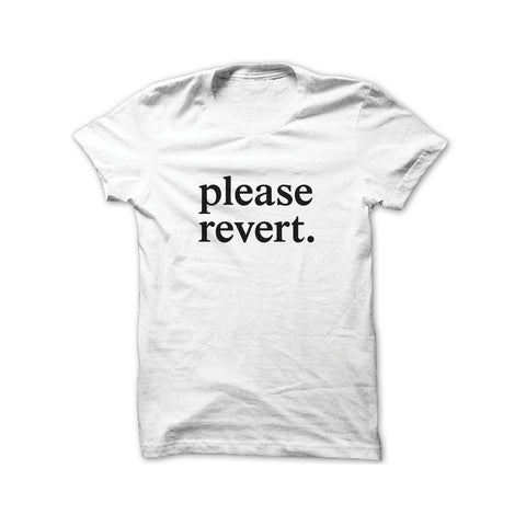 please revert