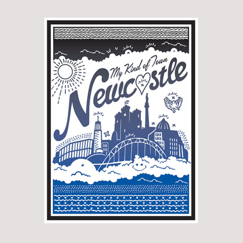 My Kind Of Town Print
